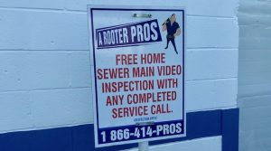 sewer main video inspection in NJ