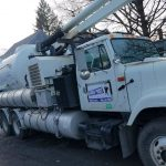 Sewer repair truck in Union NJ